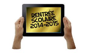 Rentree scolaire 2014-2015